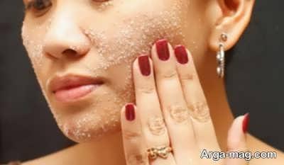 حذف سلول های مرده پوست با اسکراب های طبیعی