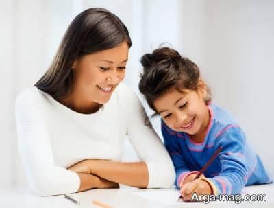 مشق نویس شدن کودکان