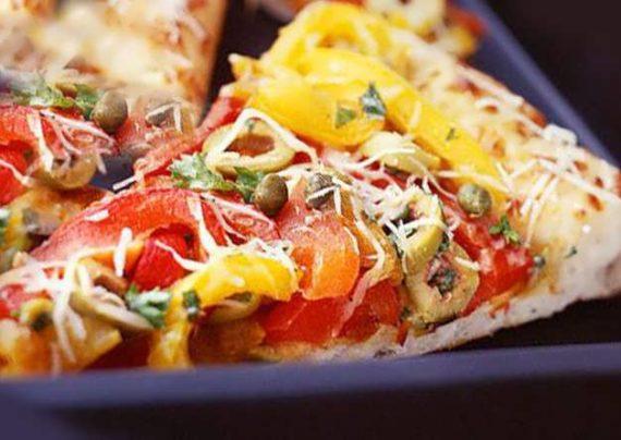 طرز تهیه پیتزا فلفل دلمه ای خوش طعم و خوشمزه