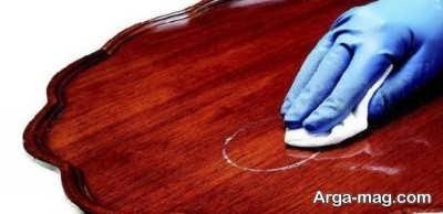 روش های مناسب جهت براق کردن وسایل چوبی