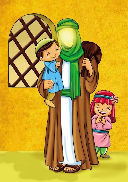 نقاشی امام علی ع