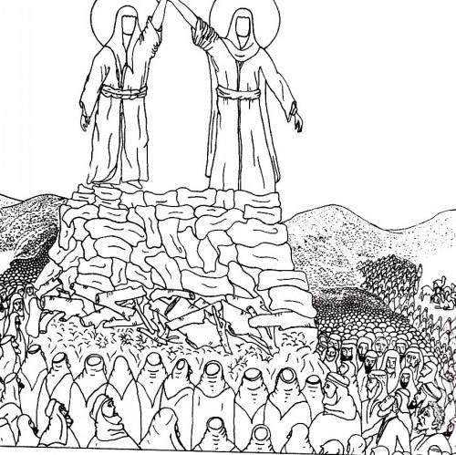نقاشی عید غدیر برای بچه ها