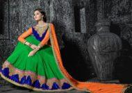 مدل ساری دامن هندی
