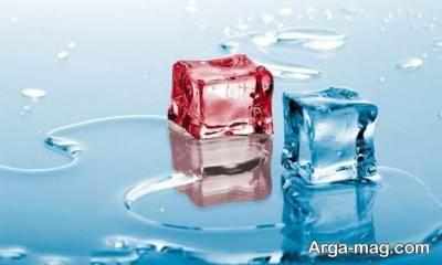 تعبیر مشاهده یخ آبی