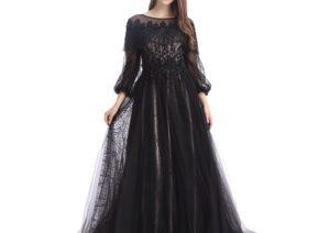 مدل لباس مجلسی توری