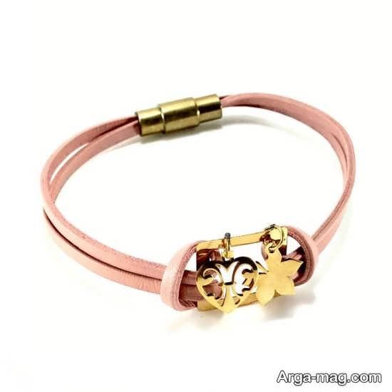 دستبند های چرمی در طرح های زیبا
