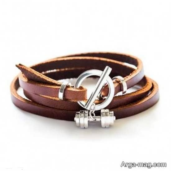 انواع دستبند چرم زنانه و مدانه