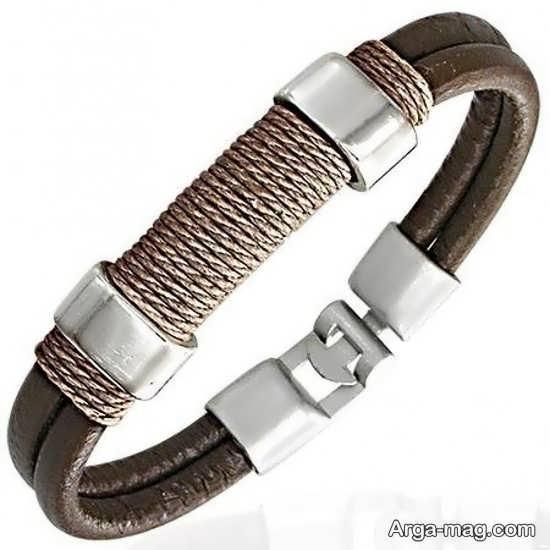 طرح شیک دستبند چرم
