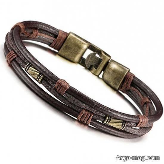 تصاویری از مدلهای دستبند چرم