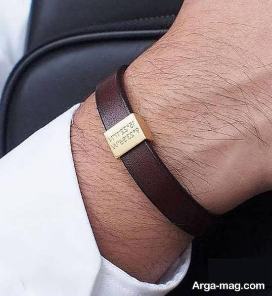 انواع مدلهای دستبند چرمی