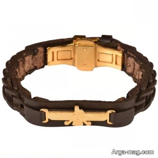 عکس مدل دستبند چرمی زیبا