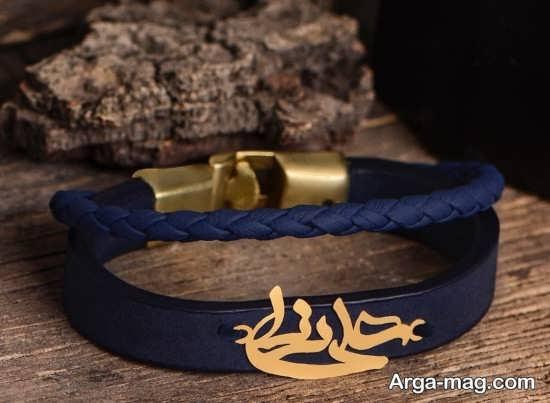 مدلهای زیبای دستبند چرمی