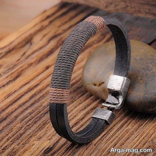 مدلهایی از دستبند چرم