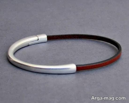 مدلهای زیبای دستبند چرم