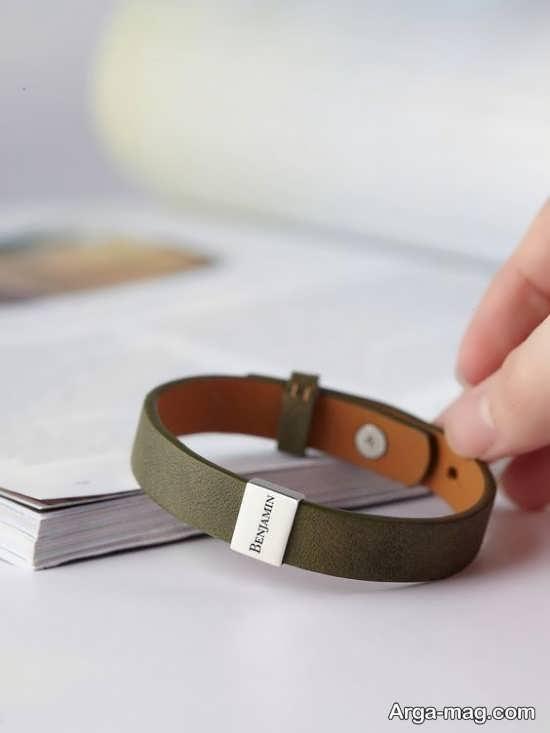 مدلهای شیک دستبند چرم