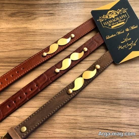 مدلهای جدید دستبند چرم