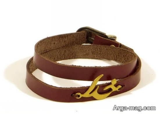 شیک ترین مدل دستبند چرمی