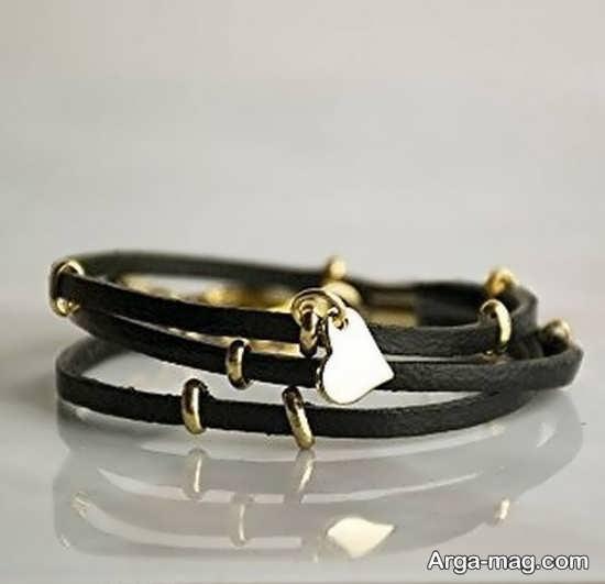 جدیدترین مدل دستبند چرمی