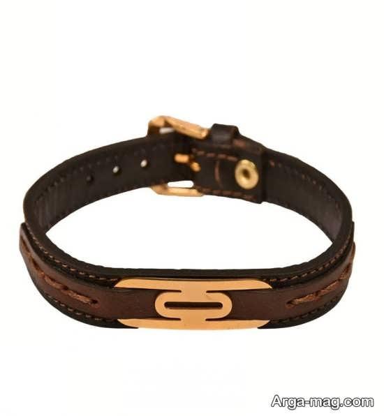 مدل دستبند چرم زیبا