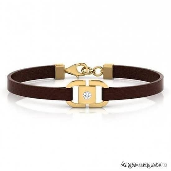 مدل جدید دستبند چرمی