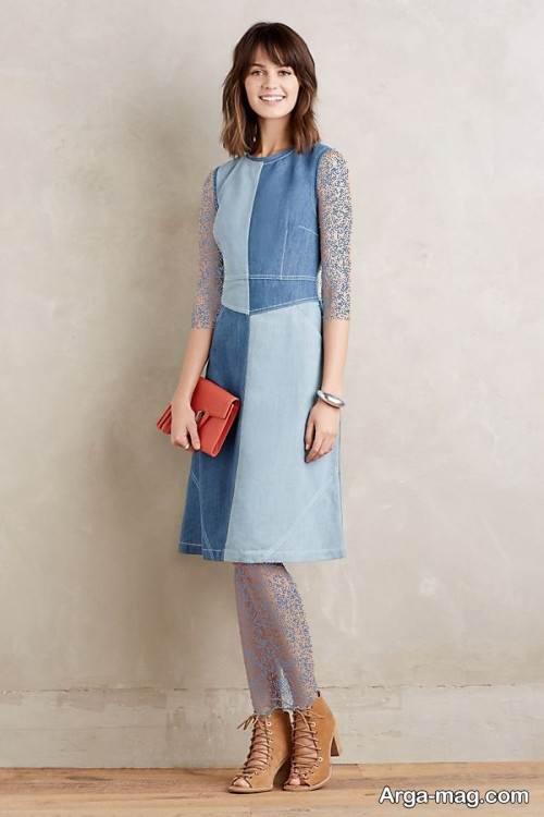 مدل لباس جین شیک