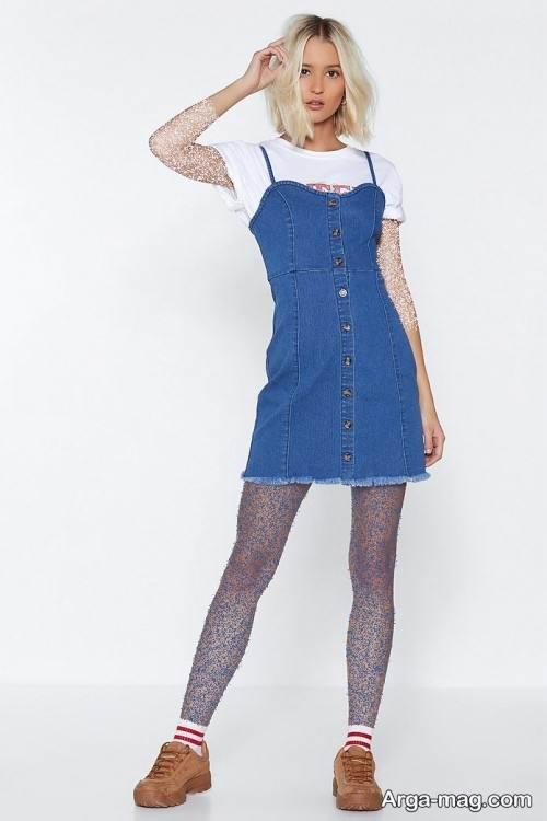 طرح لباس کوتاه لی