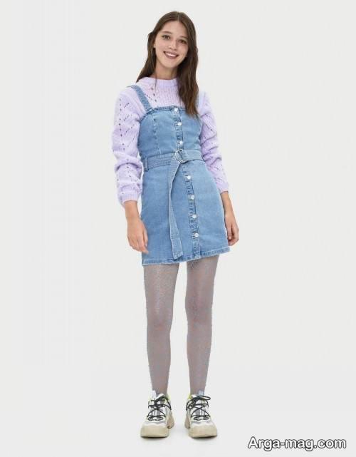 لباس لی دخترانه شیک