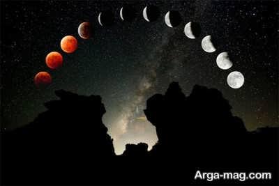 آشنایی با واژه ماه گرفتگی