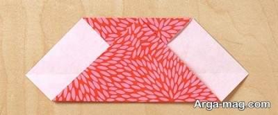 روش ساختن قلب اوریگامی