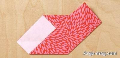 نحوه ساختن قلب اوریگامی