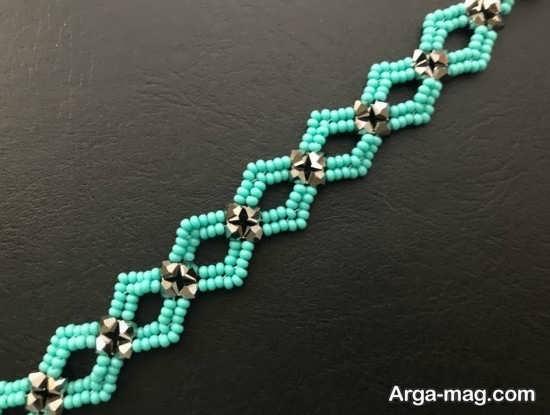 ساختن دستبند فیروزه