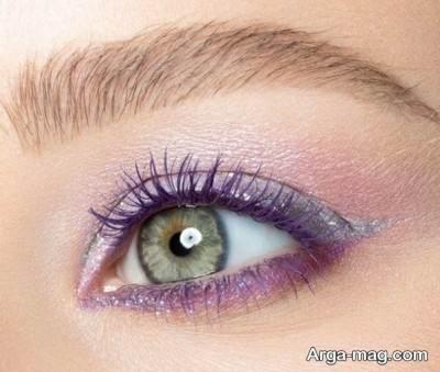 آرایش چشم کهربایی