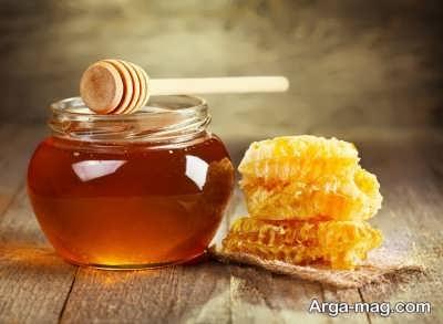 استفاده از عسل برای لایه برداری پوست