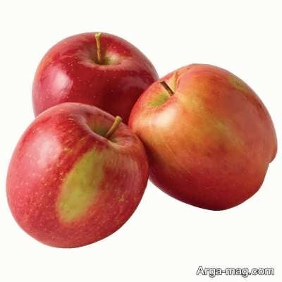 استفاده از سیب برای تهیه لایه بردار پوست