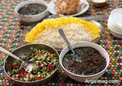 ست غذایی برای افطار