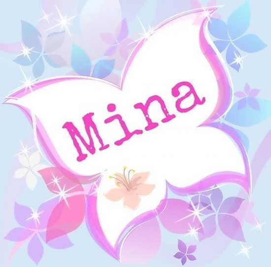 تصویر پروفایل تماشایی اسم مینا