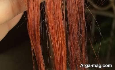 روش های رفع قرمزی مو