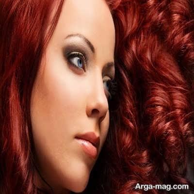 قرمزی مو به چه علت می باشد؟