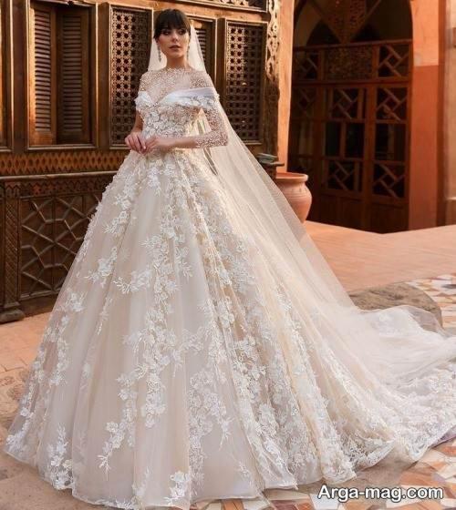 مدل پیراهن عروس روسیه ای