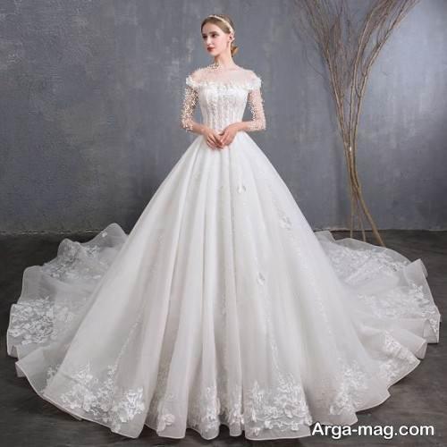 پیراهن عروس روسیه ای شیک