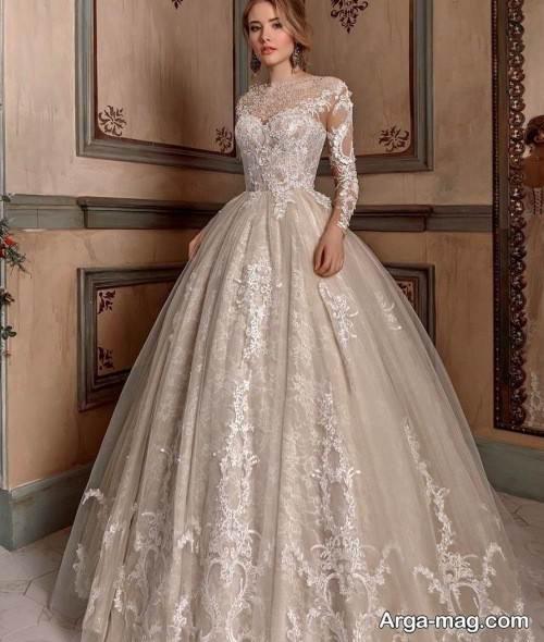 پیراهن عروس روسی شیک