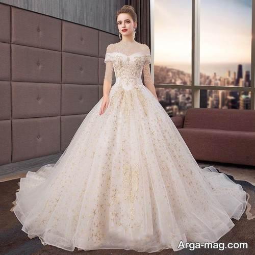 مدل لباس عروس روسی زیبا