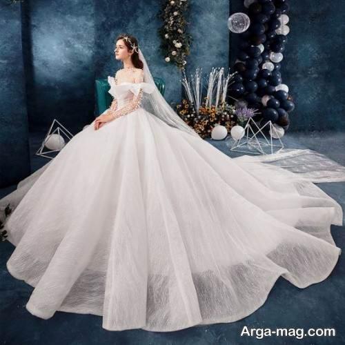 لباس عروس ساده روسی