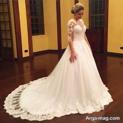 پیراهن عروس زیبا روسی