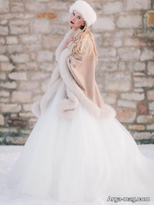 لباس عروس روسی شیک