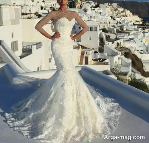 طرح لباس عروس روسیه ای