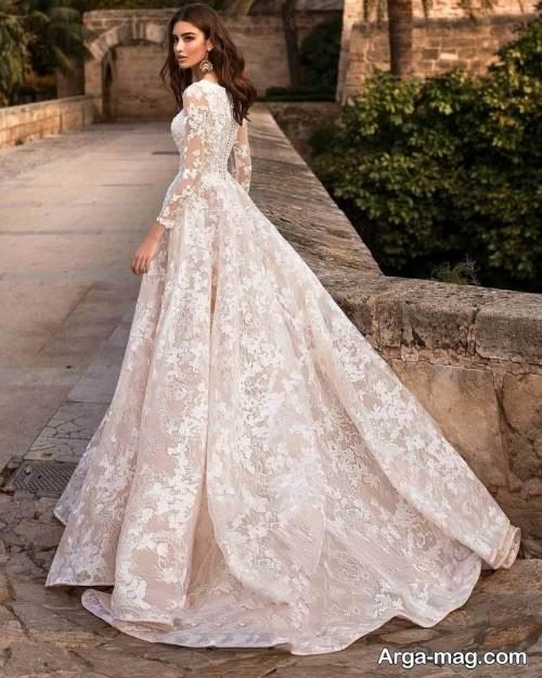 مدل لباس عروس روسی شیک