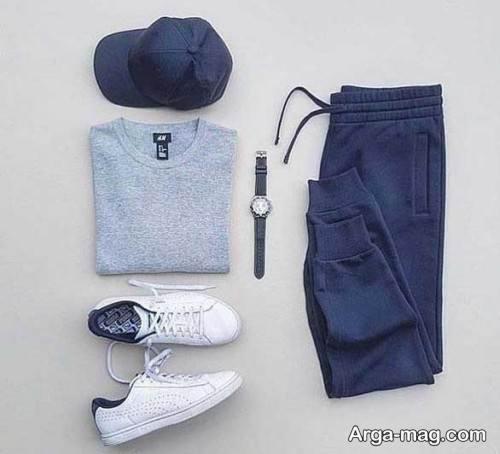 ست لباس ساده اسپرت مردانه