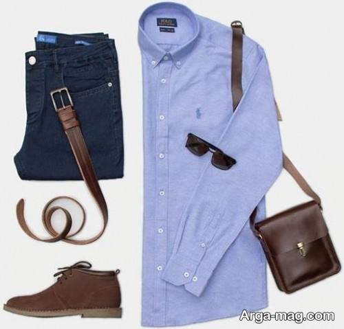 لباس مردانه زیبا و ساده