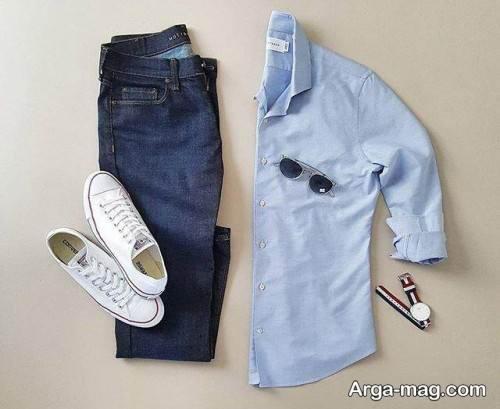 لباس مردانه ساده